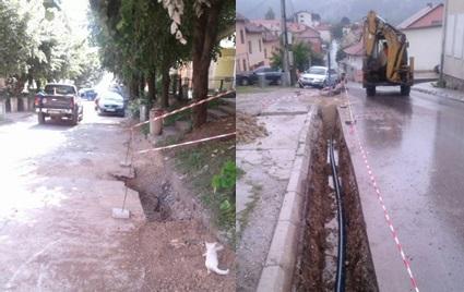 Završeni radovi na rekonsrukciji vodovodne mreže ul. Omladinskoj i dijela T. Pejatovića